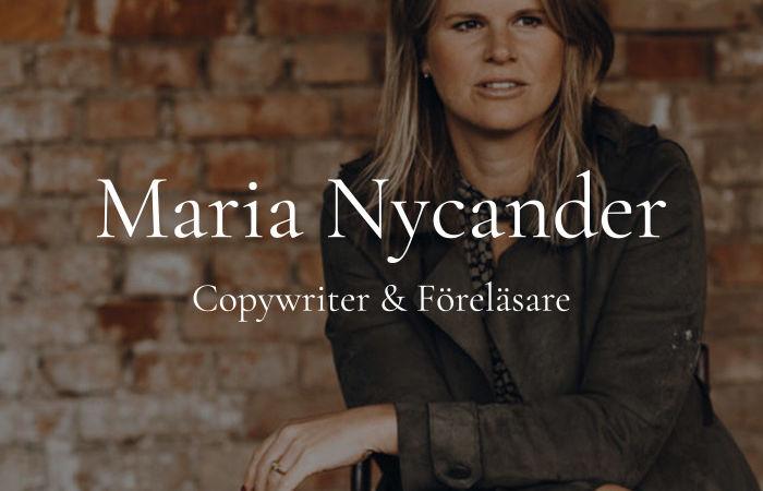 Maria Nycander